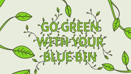 Go Green With Your Blue Bin video