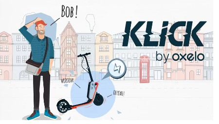 Klick The Smart Scooter video