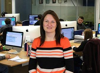 Julie Grindley: Finance Manager