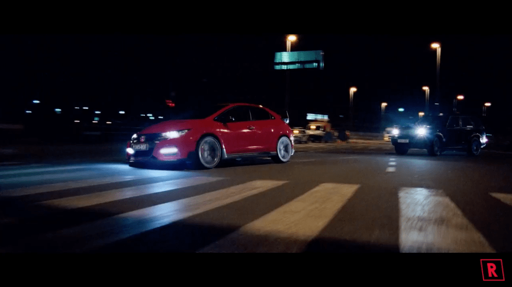 honda civic type r interactive video