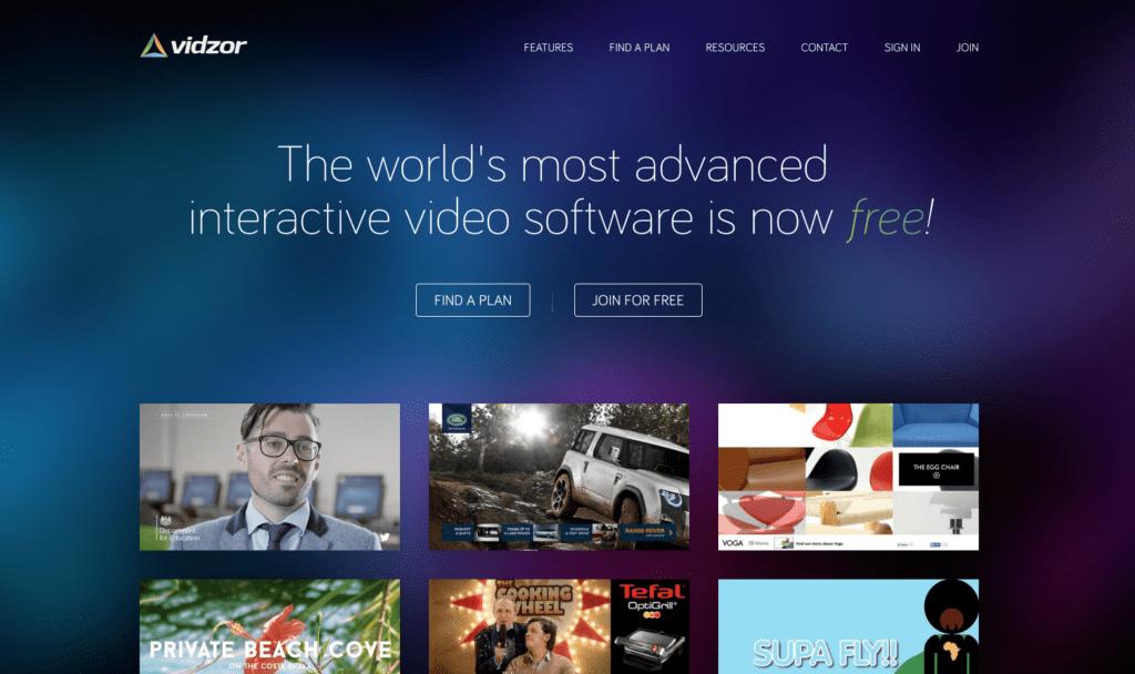 vidzor-homepage