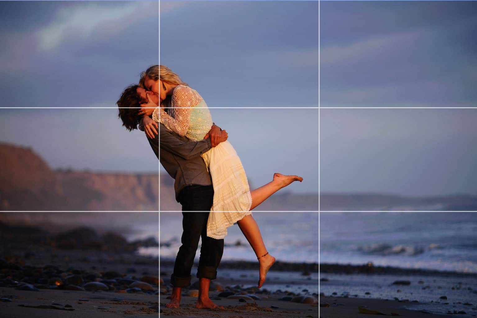 Rule of thirds couple